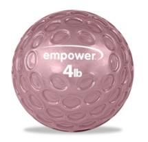 Empower Fingertip Grip Medicine Ball w/DVD