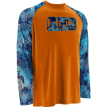 Men's Huk Kryptek KO Raglan Long Sleeve T-Shirt