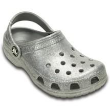 Girl's Preschool Crocs Classic Sparkle Clog