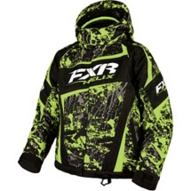Youth FXR Helix Snowmobile Jacket