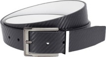 Nike Carbon Fiber Textured Reversible Belt