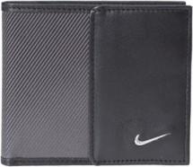 Nike Leather Tech Twill Billfold Wallet