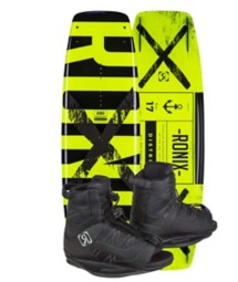 RONIX DISTRICT Wakeboard & DIVIDE Boot Pkg