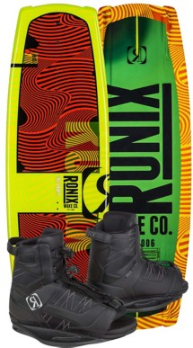Youth RONIX VAULT 128 Wakeboard & DIVIDE Boot Pkg