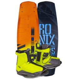 RONIX PARKS CAMBER ATR Wakeboard & DISTRICT Boot Pkg
