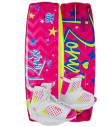 Youth 2015 RONIX AUGUST 120 Wakeboard & AUGUST Boot Pkg