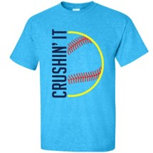Women's ImageSport Softball Crushin' It T-Shirt