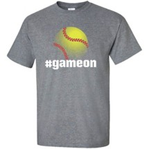 Women's ImageSport Softball Game On T-Shirt