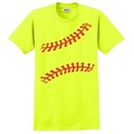 Women's ImageSport Softball Stitches T-Shirt