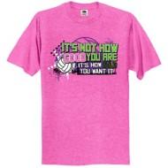 Women's ImageSport Volleyball Good Bad T-Shirt