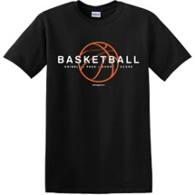 Youth Girls' ImageSport Basketball Shadow T-Shirt