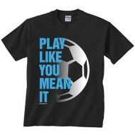 Youth Girls' ImageSport Soccer Play Like You Mean It Tee