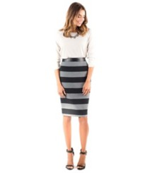Women's Downeast Athens Stripe Skirt