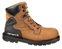 Men's Carhartt 6-Inch Bison Brown Safety Toe Boot