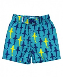 Youth Boys' RuggedButts Splashing Sharks Swim Trunks