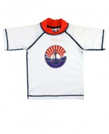 Youth Boys' RuggedButts Nautical Anchor Rash Guard