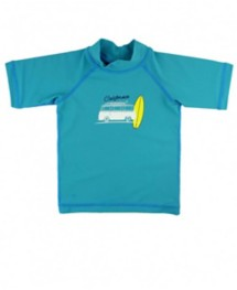 Youth Boys' RuggedButts Blue California Surf Rash Gaurd