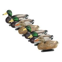DOA Decoy Refuge Series Mallard Floaters 6 Pack