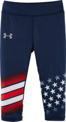 Toddler Girls' Under Armour USA Capri