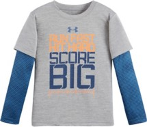 Toddler Boys' Under Armour Run Fast Game Day Long Sleeve Shirt
