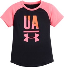 Toddler Girls' Under Armour Favorite Raglan T-Shirt