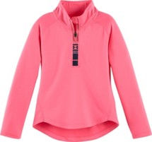 Toddler Girls' Under Armour World Of Tech 1/4 Long Sleeve Zip