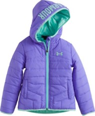 Toddler Girls' Under Armour Feature Puffer Jacket