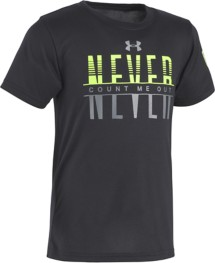 Toddler Boys' Under Armour Never Count Me Out T-Shirt