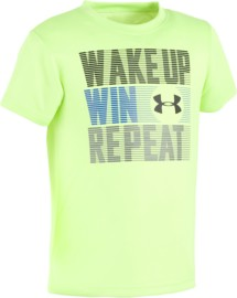 Toddler Boys' Under Armour Wake Up Win Repeat T-Shirt