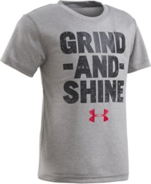 Preschool Boys' Under Armour Grind And Shine T-Shirt