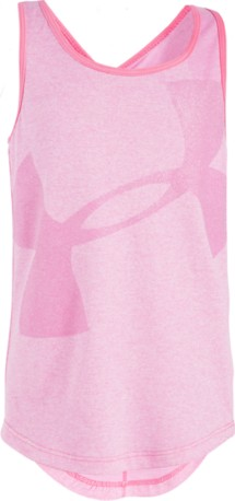 Preschool Girls' Under Armour Big Logo Tank