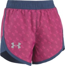 Preschool Girls' Under Armour Fast Lane Logo Toss Short