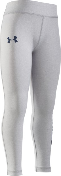 Preschool Girls' Under Armour Favorite Graphite Tight
