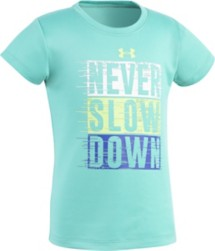 Toddler Girls' Under Armour Never Slow T-Shirt
