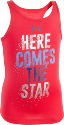 Toddler Girls' Under Armour Here Comes The Star Tank