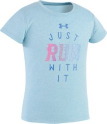 Toddler Girls' Under Armour Just Ran With It T-Shirt
