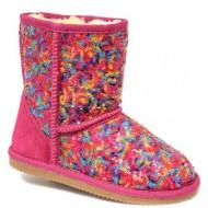 Grade School Girls LAMO Sequin Pattern Boots