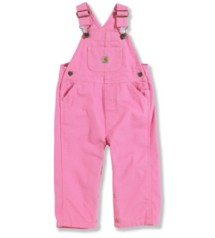 Infant Girls' Carhartt Canvas Bib Overall