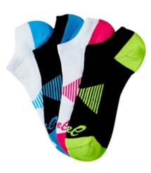 Women's ASICS No Show 4-Pack Socks