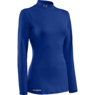 Women's Under Armour ColdGear Fitted Mock Long Sleeve