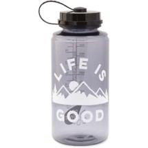 life is good. Moutains Water Bottle