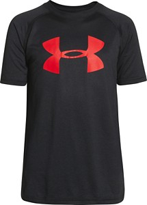 Youth Boys' Under Armour Big Logo Tech T-Shirt