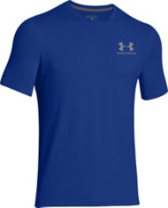 Men's Under Armour Charged Cotton Left Chest Lockup T-Shirt