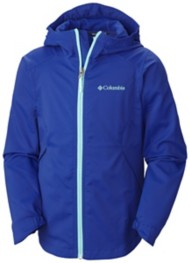 Youth Girls' Columbia Splash Flash II Hooded Softshell Jacket