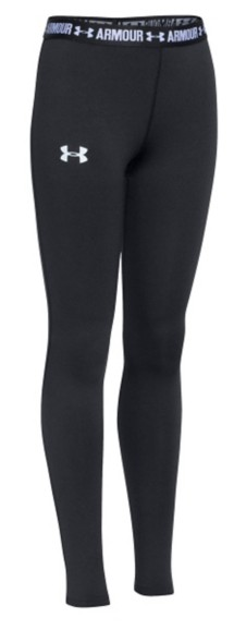 Youth Girls' Under Armour HeatGear ARMOUR Tight