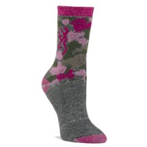 Women's Browning Wool Blend Camo Crew Socks