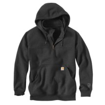 Men's Carhartt Paxton Heavyweight Hooded Zip Mock Sweatshirt