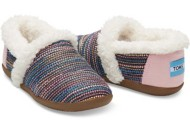 Youth Girl's Toms Sherling Slippers