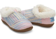 Toddler Girl's Toms Sherling Slippers