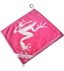 Frogger Golf Amphibian Towel
